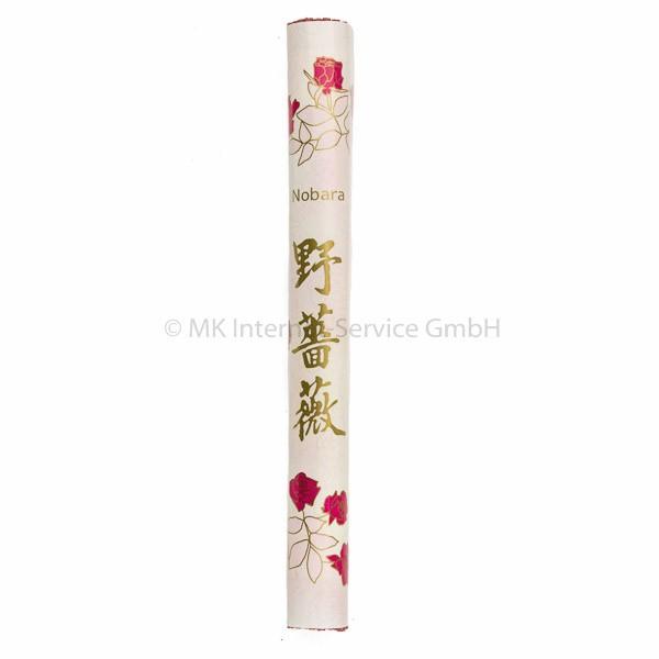 Nobara (Wilde Rose) - Japanische Räucherstäbchen Kenmei Do