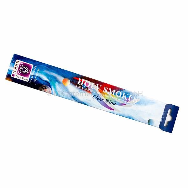 Holy Smokes Räucherstäbchen Blue Line Clear Wind