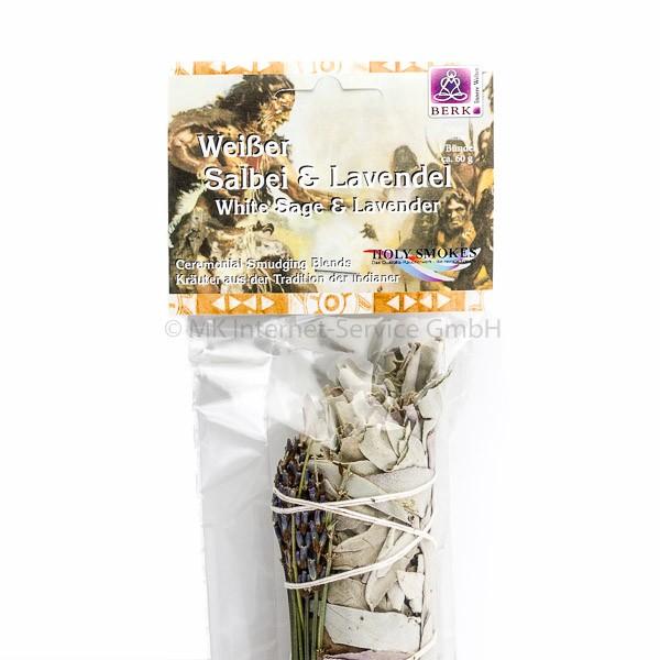 Smudge Stick Weißer Salbei und Lavendel
