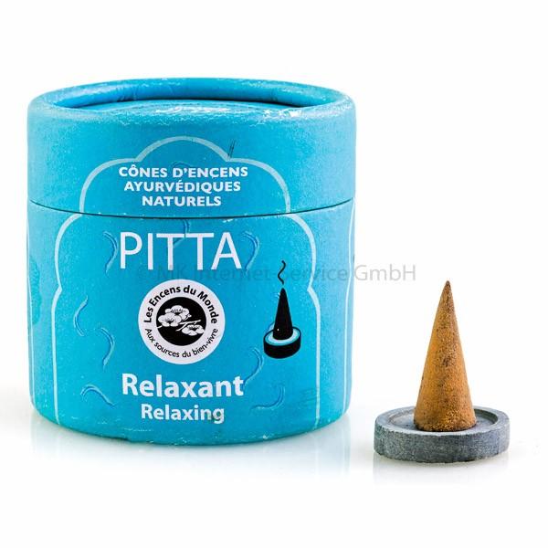 Pitta - Ayurvedische Räucherkegel Les Encens du Monde