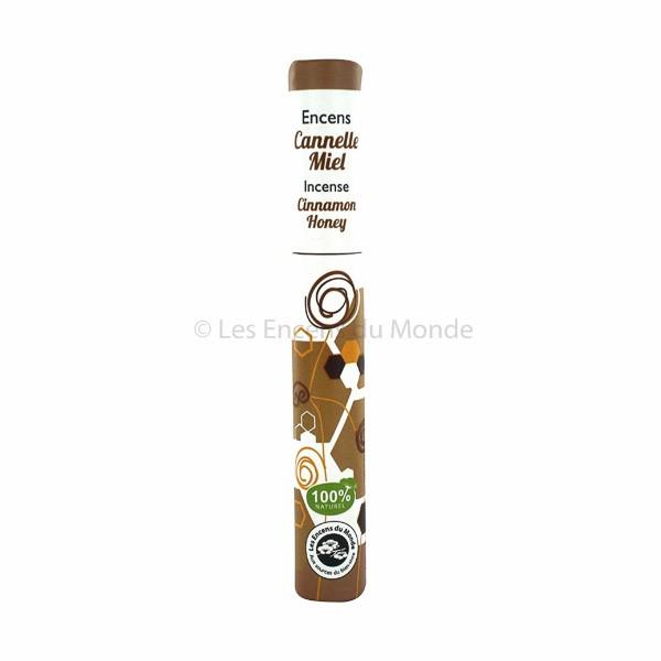 Zimt, Honig, Fenchel - Pflanzliche Räucherstäbchen Herbosense Les Encens du Monde