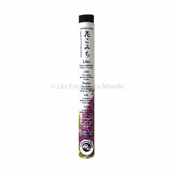 Lilas (Flieder) - Japanische Räucherstäbchen Les Encens du Monde