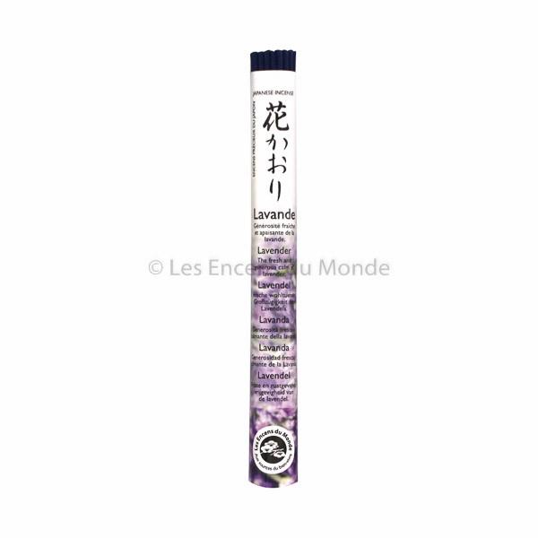 Lavendel - Japanische Räucherstäbchen Les Encens du Monde