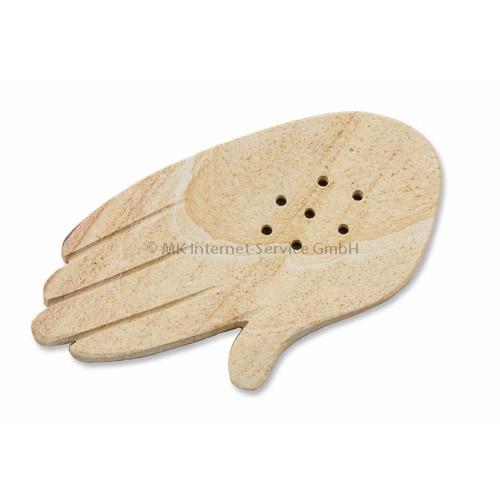 Halter Hand für tibetische Räucherstäbchen, hell