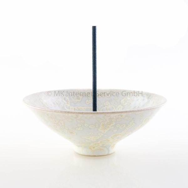 Japanischer Räucherstäbchenhalter Umi (Ozean), perlmutt