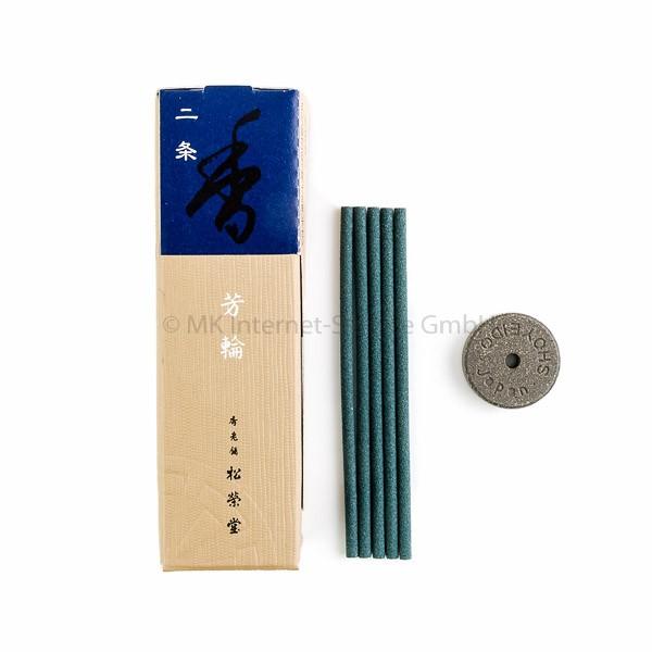Horin Nijo (blau) - Japanische Räucherstäbchen Shoyeido (20)
