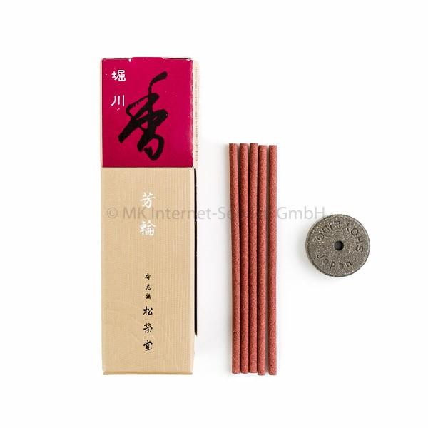 Horin Horikawa (rot) - Japanische Räucherstäbchen Shoyeido (20)