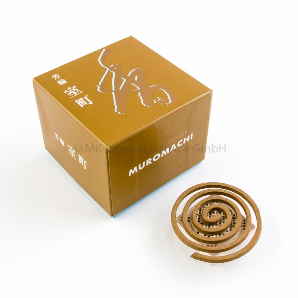 Horin Muromachi (gold) - Japanische Räucherspiralen Shoyeido