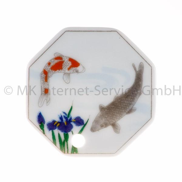 Japanischer Räucherstäbchenhalter Sanae (Iris & Fisch)
