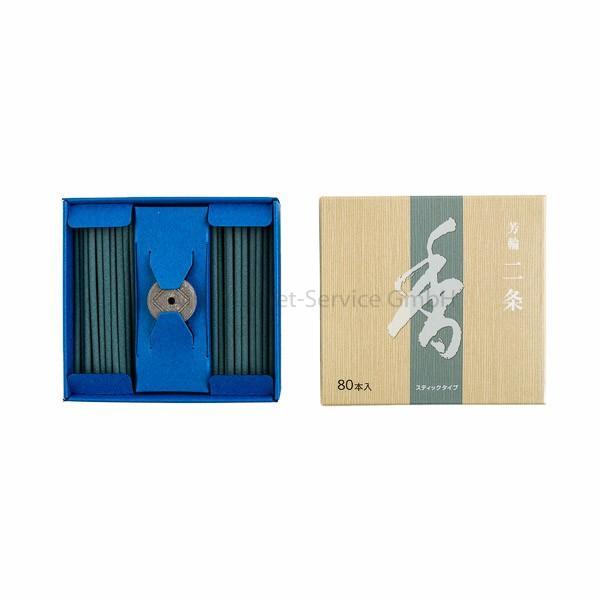 Horin Nijo (blau) - Japanische Räucherstäbchen Shoyeido (80)